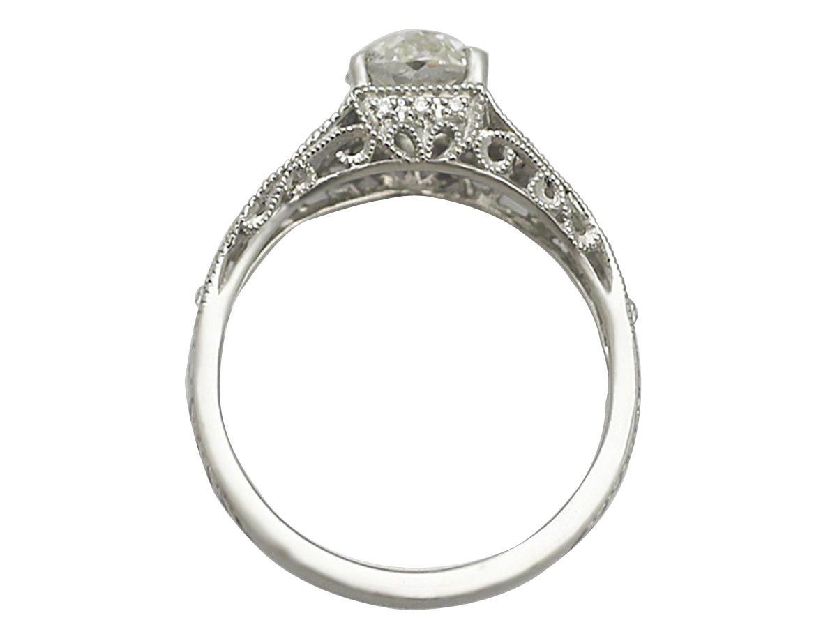 S 1 18 Carat Diamond And Contemporary Platinum