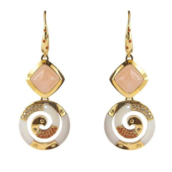 Yellow Gold Drop Earrings For Sale at 1stdibs
