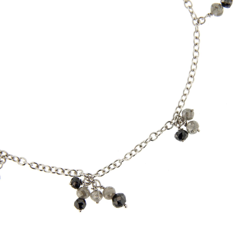 Jona Black And Ice Diamond Gold Bracelet For Sale At 1stdibs