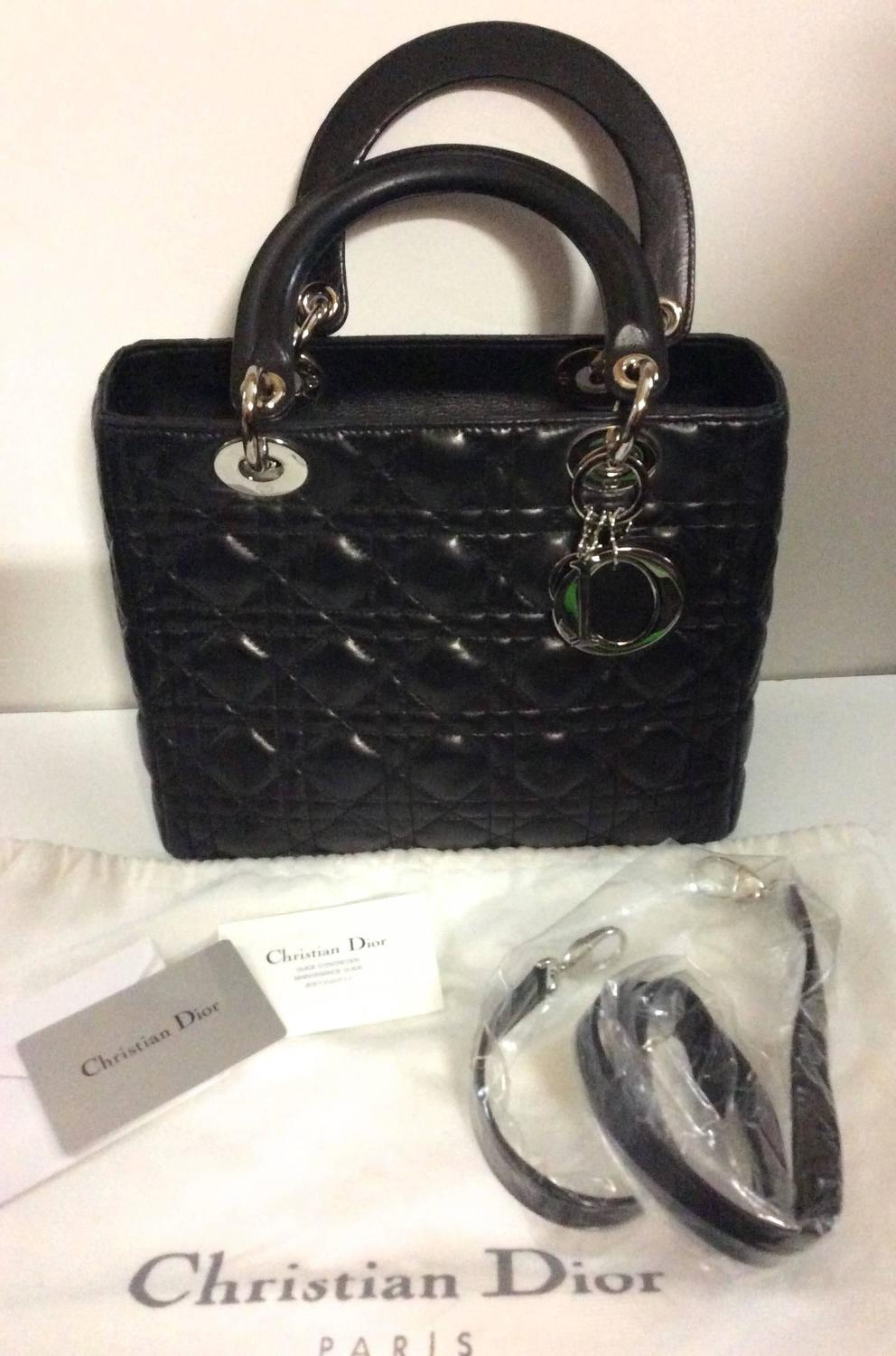 Christian Dior Lady Dior Bag At 1stdibs