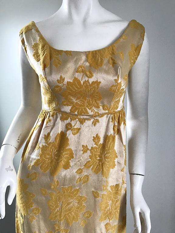 Yellow Dress 60s
