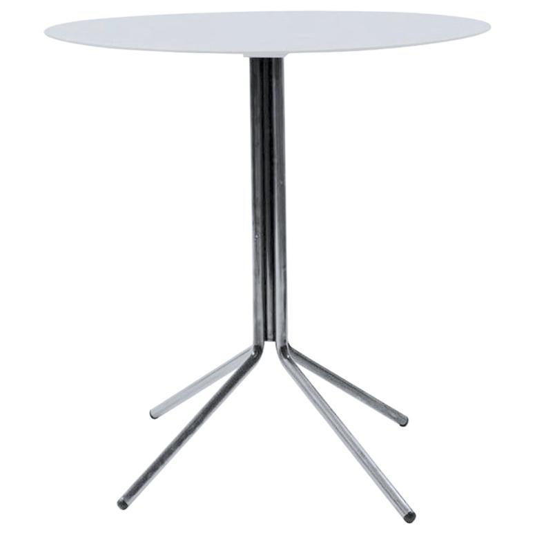 dietiker indoor or outdoor folding patio table le corbusier gray in stock