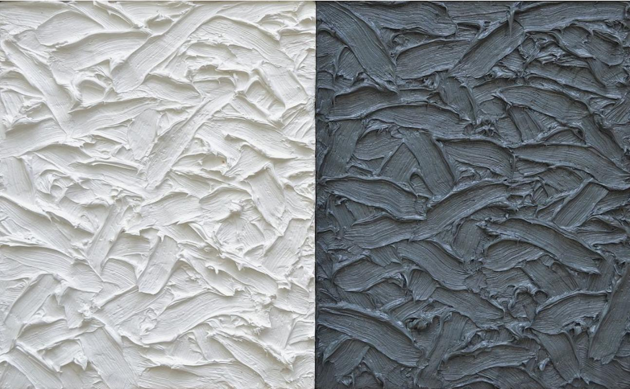 James Hayward Abstract Diptych 7 Painting For Sale At