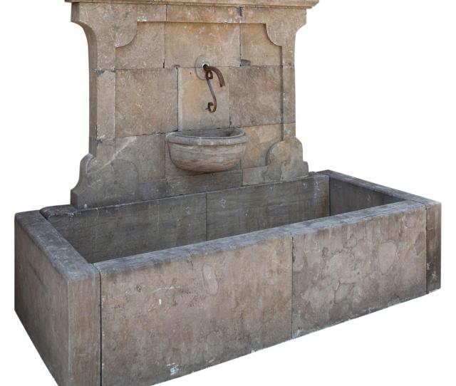 Large Wall Fountain St Century For Sale