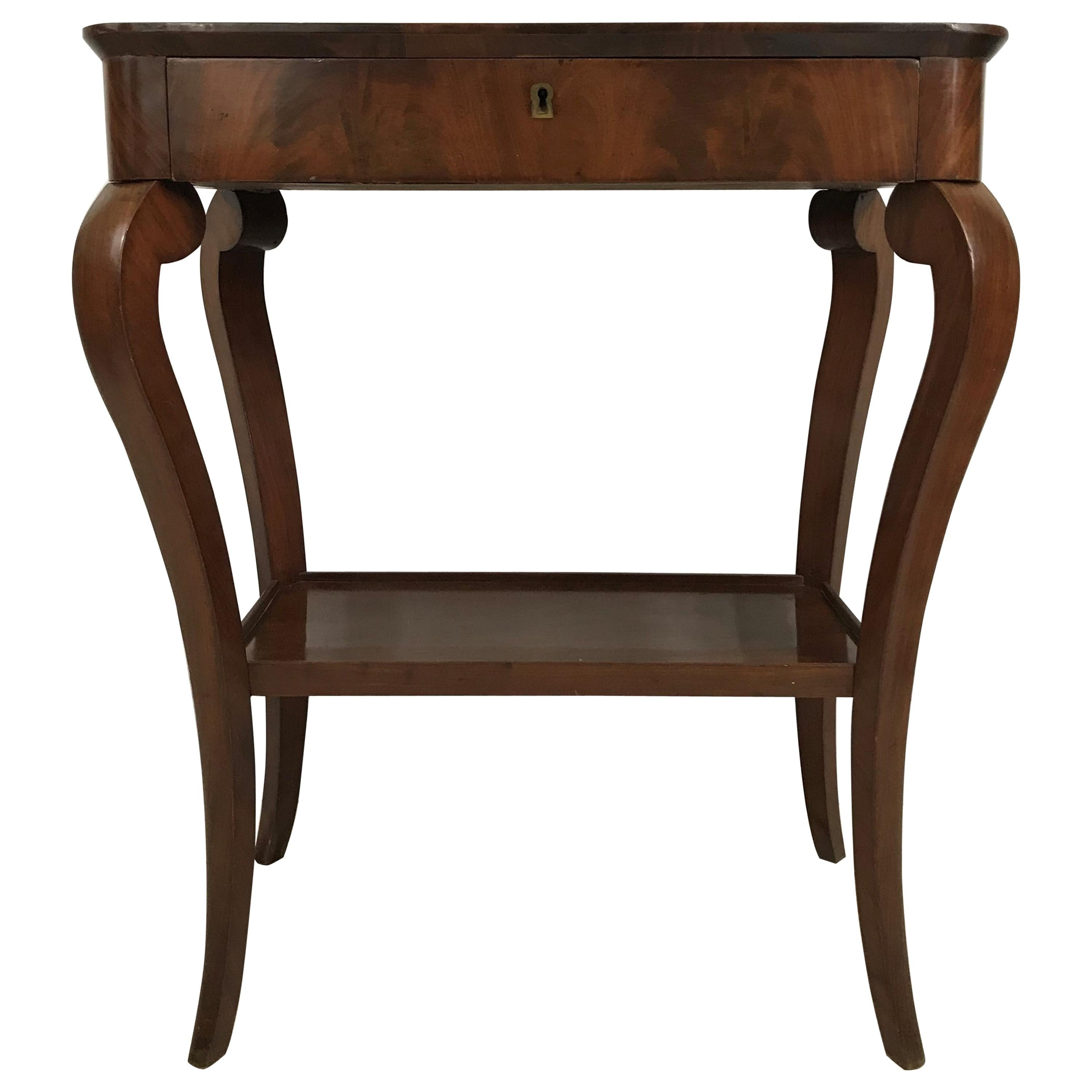 louis philippe side table or console 19th century