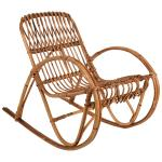 Bamboo Rattan Children Cane Rocking Chair 1950s For Sale At 1stdibs