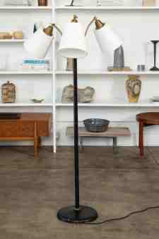 Modernist Adjustable Three Head Floor Lamp At 1stdibs