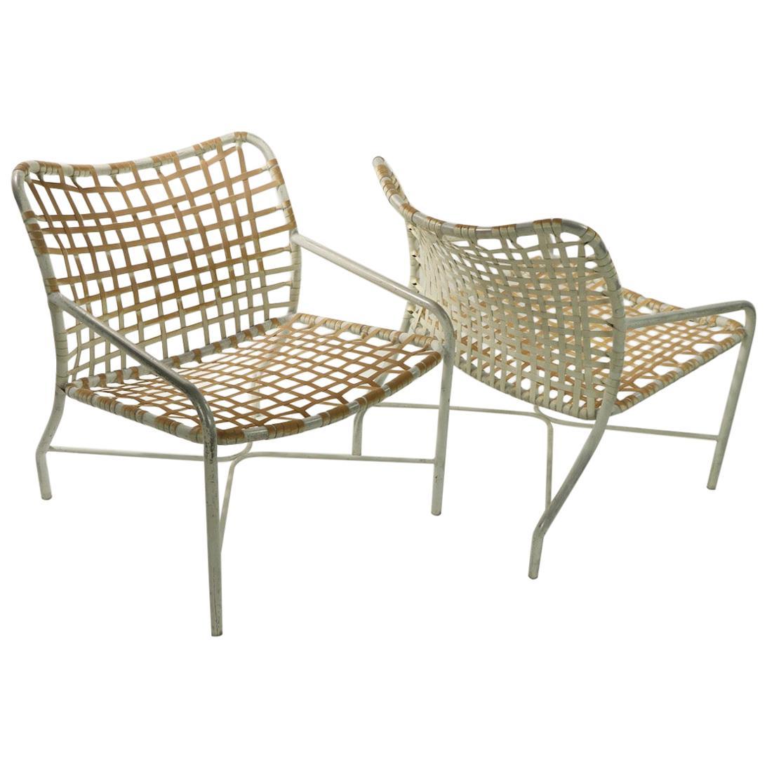 pr lounge chairs by tadao inouye for brown jordan
