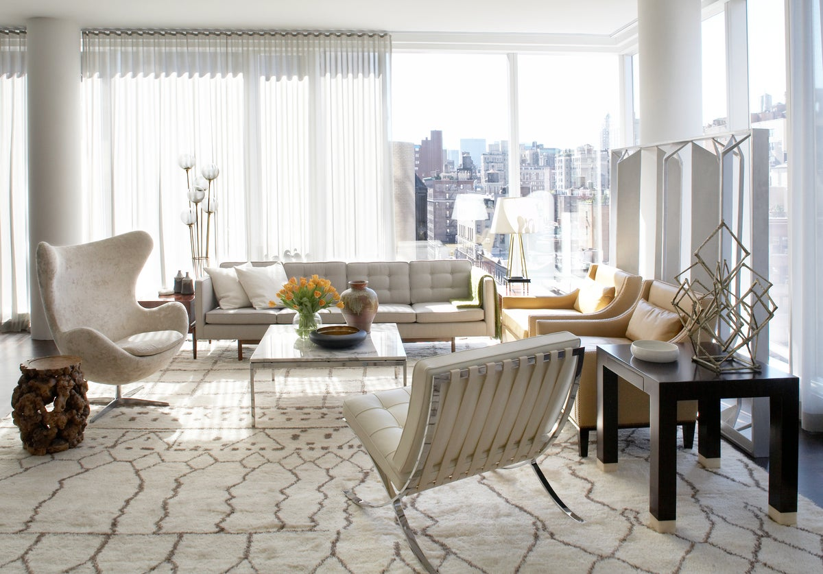 Modern Living Room In New York, NY By Neal Beckstedt Studio