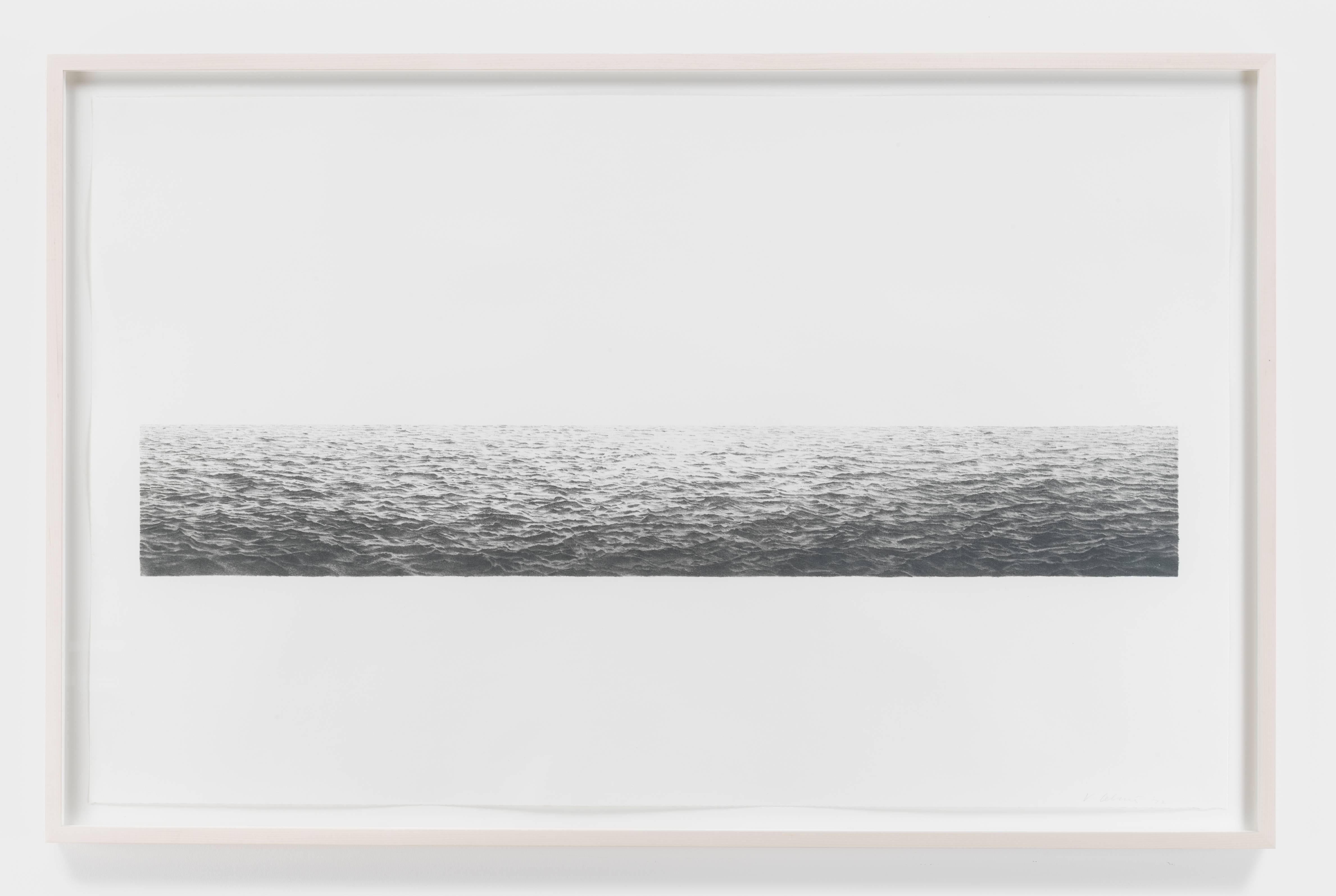 Vija Celmins Untitled Ocean Print For Sale At 1stdibs