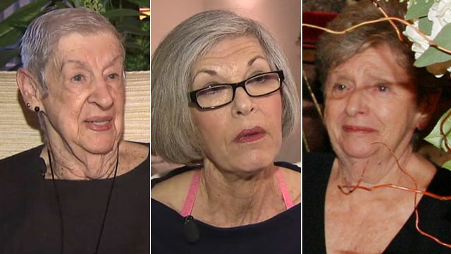 PHOTO: Ruth Sherman, Linda Kallish, and Lenore Zimmerman have come forward claiming they were strip-searched by Transportation Security Administration [TSA] agents at JFK Airport.