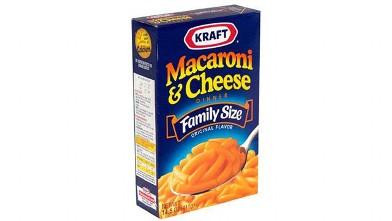 PHOTO: Kraft Mac n' Cheese contains Yellow 5 and Yellow 6.