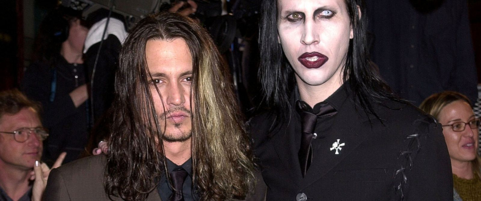 Image result for marilyn manson johnny depp