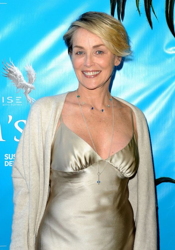 Sharon Stone Smiles at Movie Premiere Picture | Fab over ...