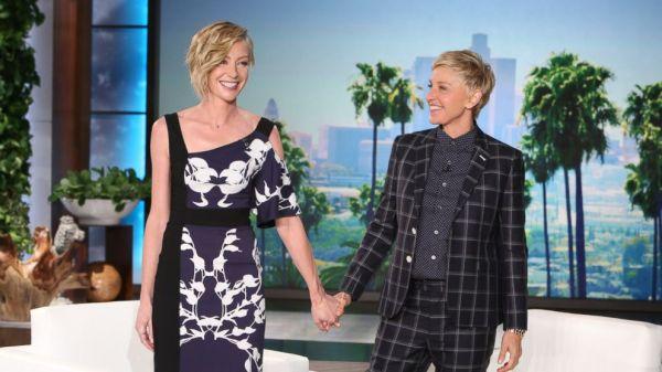 Ellen DeGeneres and Portia De Rossi Address Baby Rumors ...