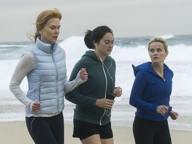 PHOTO: Nicole Kidman, Reese Witherspoon, and Shailene Woodley in Big Little Lies.