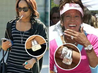 Whitney Houston Wedding Ring