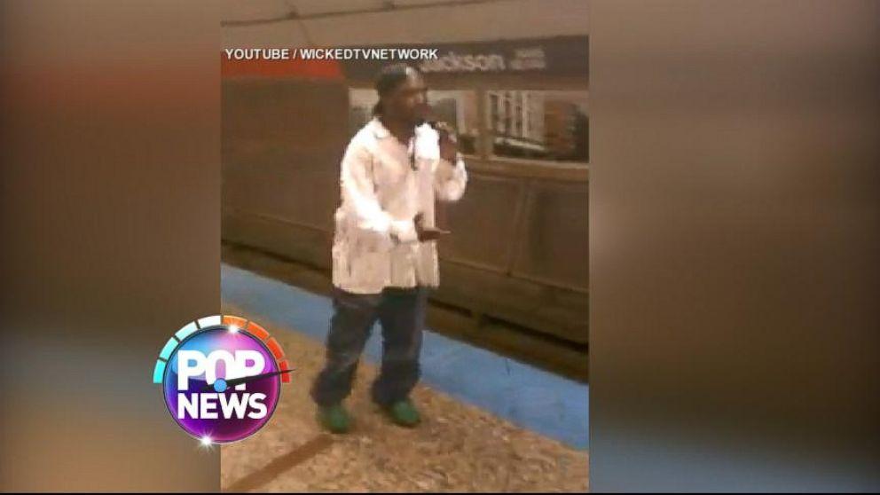 VIDEO: Homeless Rapper Goes Viral