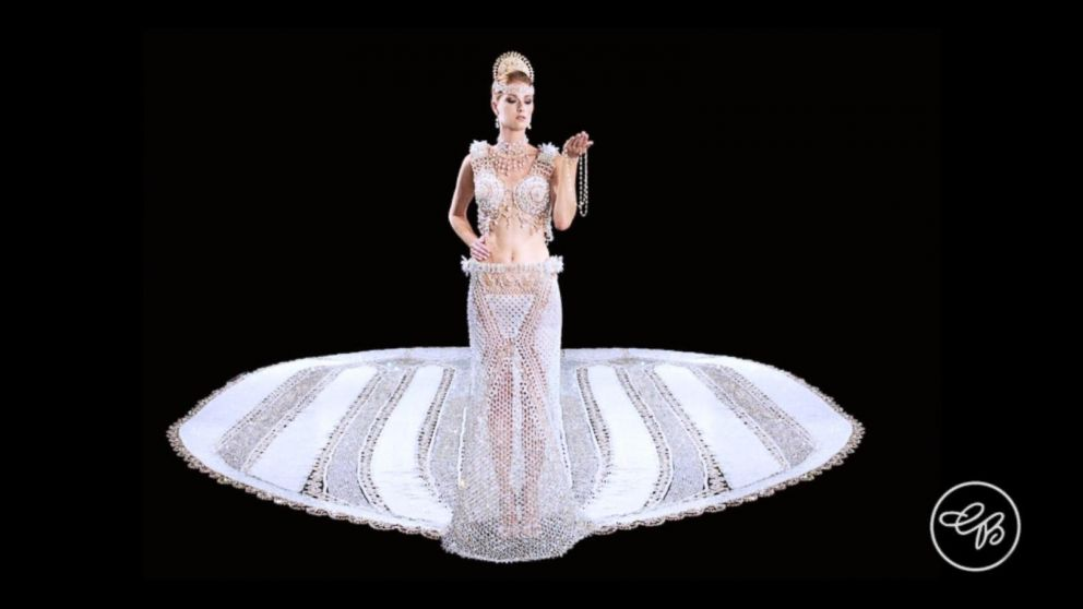 Beaded Wedding Gown Could Be A World Record Video