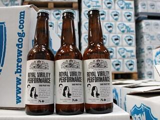 PHOTO:BrewDog's The Royal Virility Performance beer