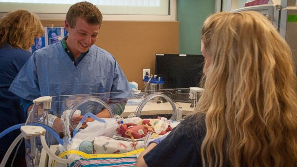 ht quadruplets 3 sr 140509 16x9 608 Texas Family Welcomes One in a Million Quadruplets