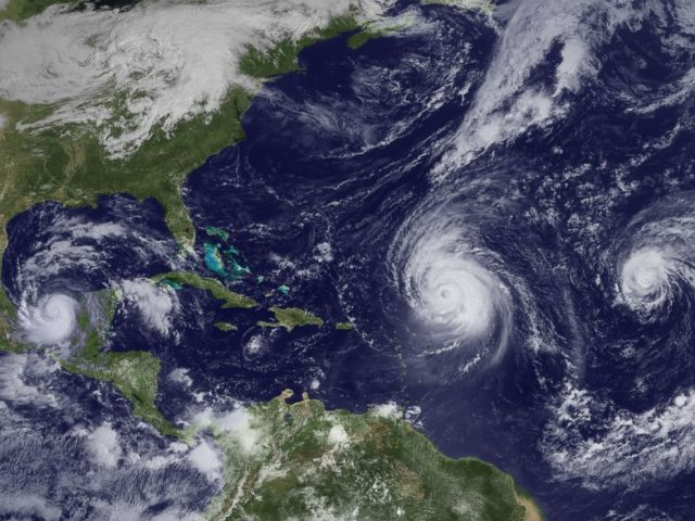 PHOTO: In 2010, three hurricanes churned in the Atlantic Basin, including Hurricane Igor, which struck Bermuda as a Category 1 storm and then later the Canadian island of Newfoundland as a tropical cyclone, according to the National Hurricane Center.