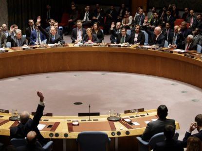 security council votes against israeli settlements