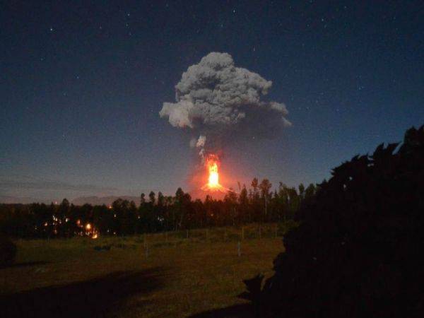 Chile Volcano Eruption Sends Lava Shooting Into the Sky ...