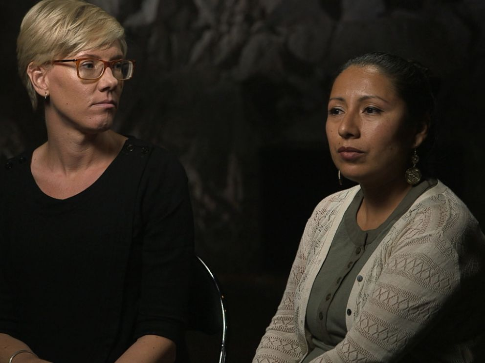 Frida Saide, 35, from Sweden and Patricia Chavez, 35, from Peru and Belgium, had never been publicly identified as ISIS hostages before agreeing to speak to ABC News this month about their friend, Kayla Mueller.