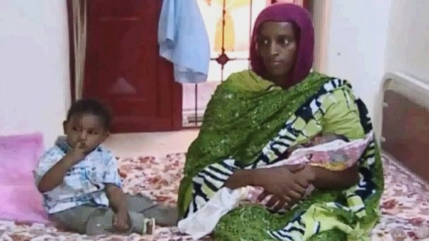 ap ibrahim christianwoman jc 140624 16x9 608 Christian Woman Who Was Sentenced to Death Blocked From Leaving Sudan