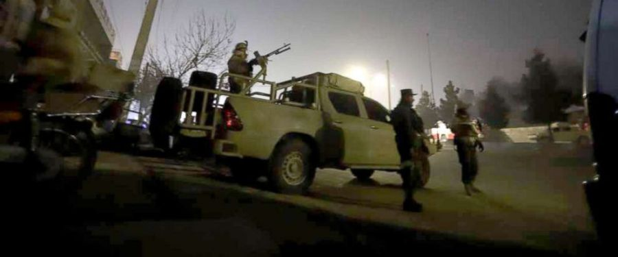 Image result for At least five killed, six injured in Kabul hotel attack