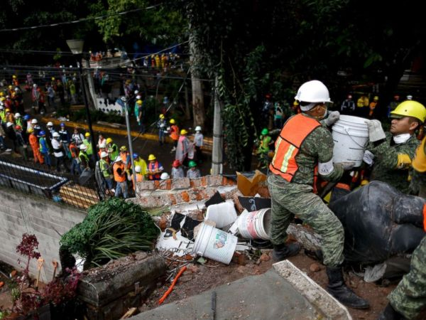 3rd earthquake in a month shakes Mexico as rescuers search ...