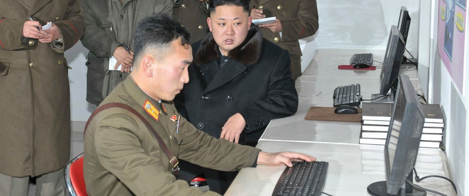 Image result for kim jong un photos, computer
