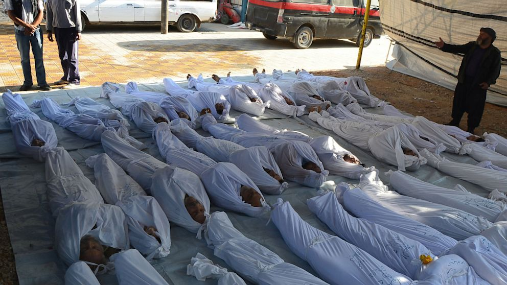 Image result for syria chemical weapons