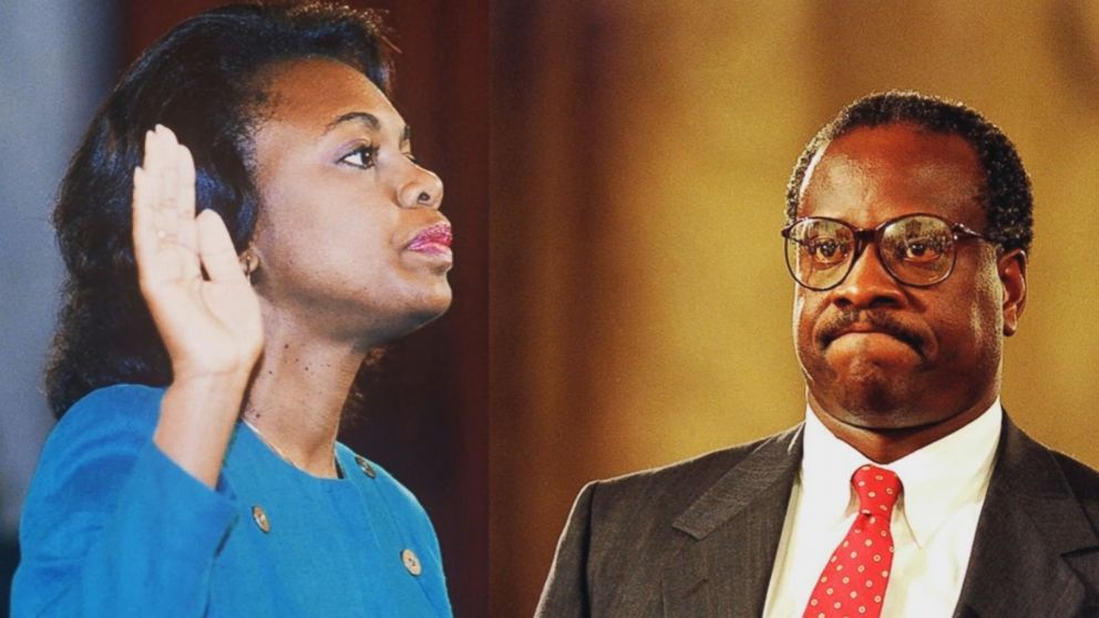 Image result for clarence thomas anita hill