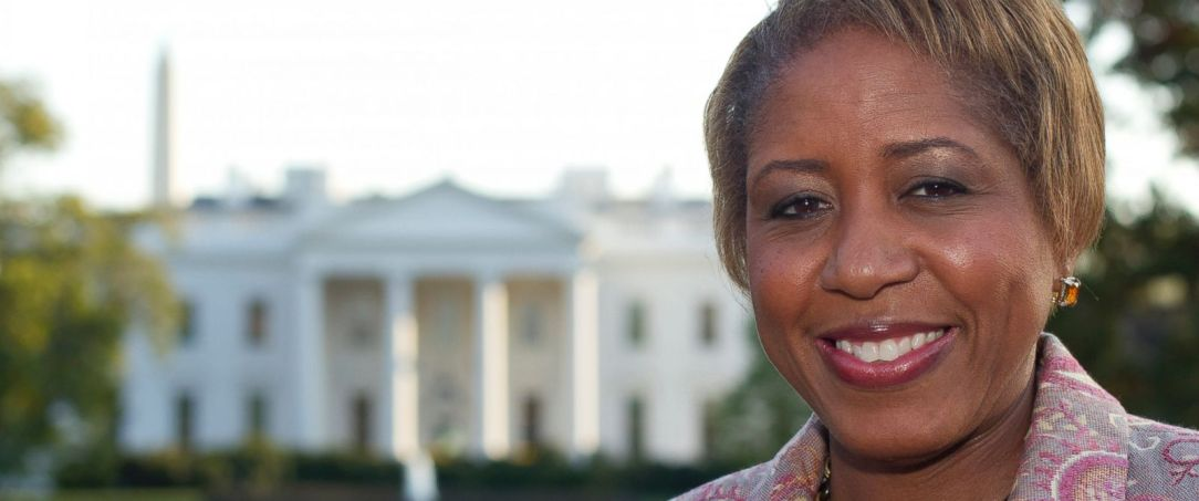 PHOTO: Angella Reid, shown in Lafayette Park in front of the White House, Oct. 18, 2011.