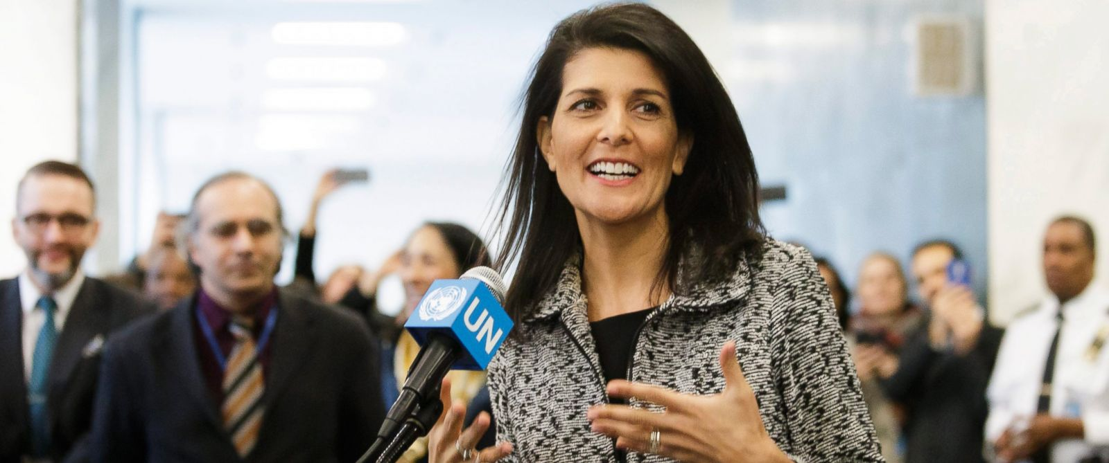 Image result for nikki haley at the UN
