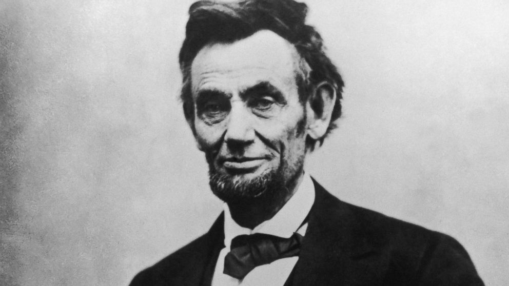 PHOTO: Abraham Lincoln (1809 - 1865), the 16th President of the United States of America.