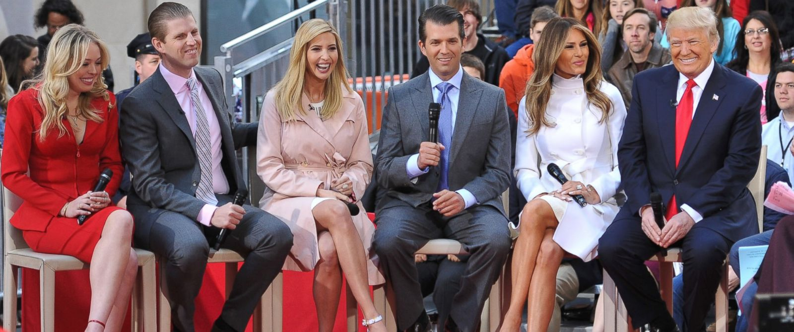 Image result for photos of trump family in white house