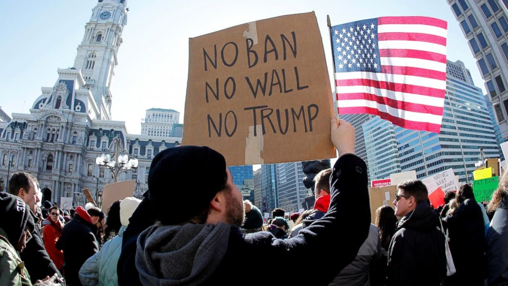 Image result for trump immigration protest