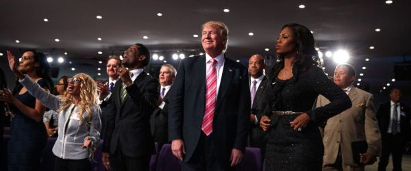 Trump Tells Black Church Members in Detroit He is There to ...