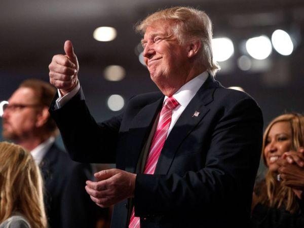 Trump Met by Polite, Yet Skeptical Audience in First Visit ...