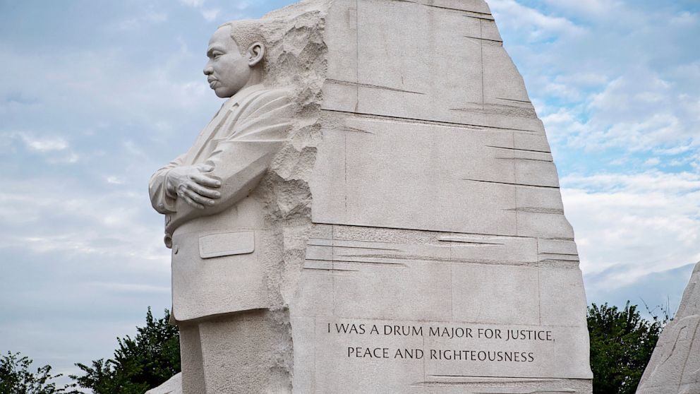 Image result for MARTIN LUTHER KING JR MEMORIAL DONALD TRUMP