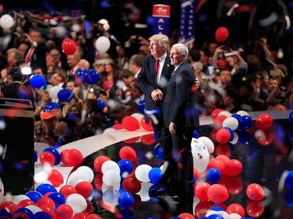 Image result for PHOTO OF TRUMPS NATIONAL CONVENTION
