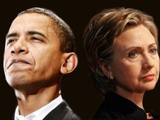 obama & clinton