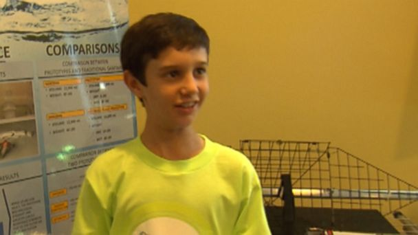 ABC peyton roberton 131024 16x9 608 Sixth Grader Invents Sandless Sandbags to Save Lives and Property in Floods