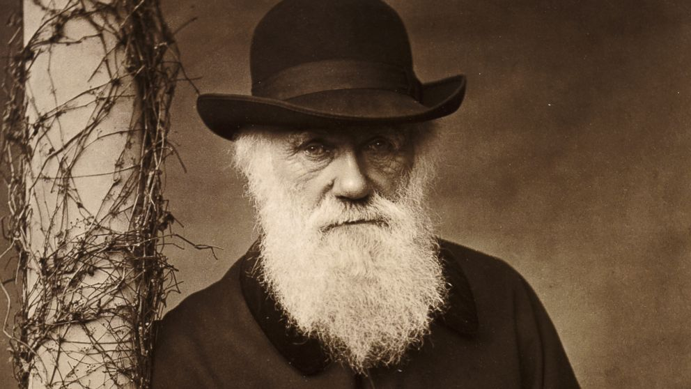 PHOTO: Charles Darwin at his home at Down House, Kent, 1880.