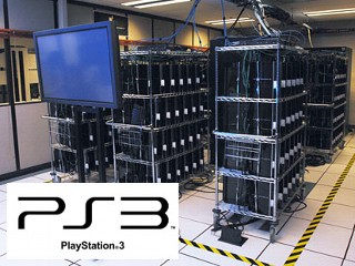 Photo: Military and other researchers using Playstation 3 clusters as supercomputers