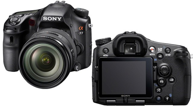 PHOTO: Sony SLT-A77 digital SLR camera