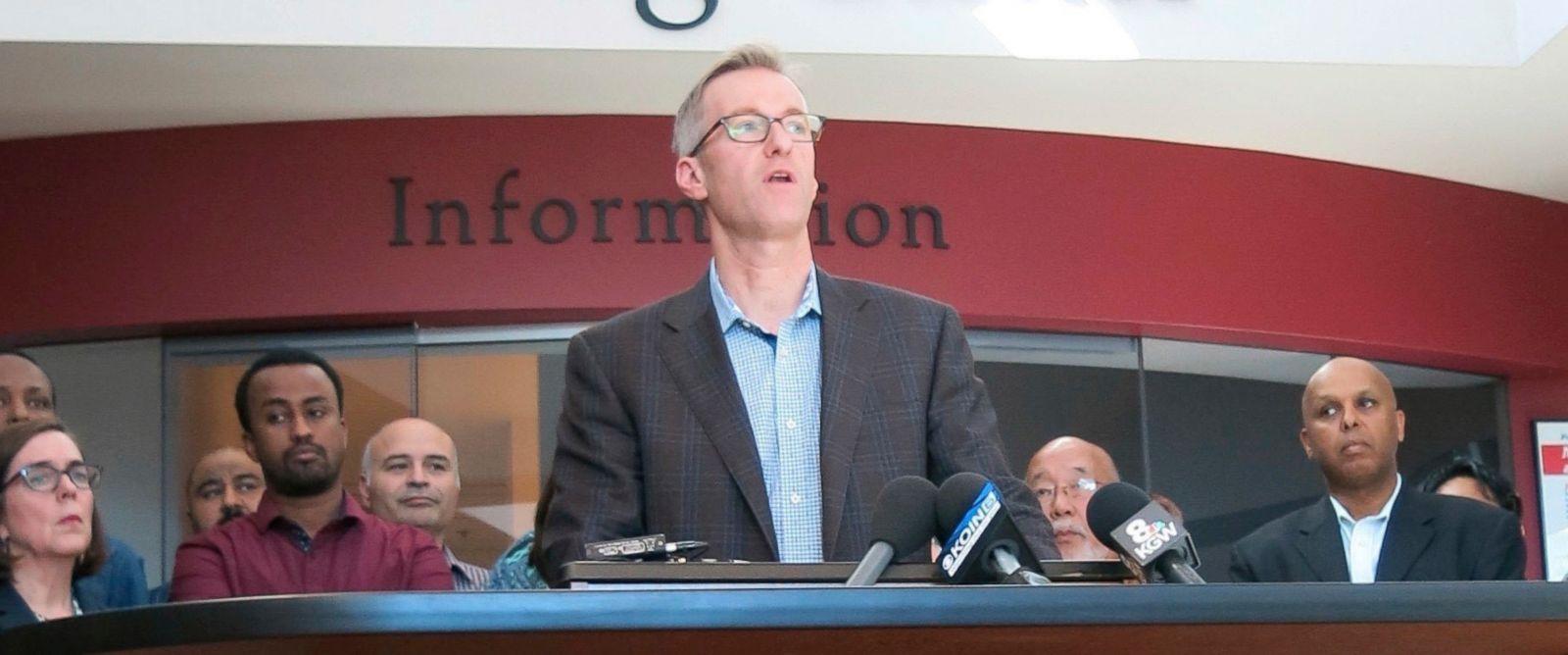 Image result for Images of Portland Mayor, Ted Wheeler